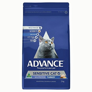 Advance Adult Cat Sensitive 2kg Dry Cat Food