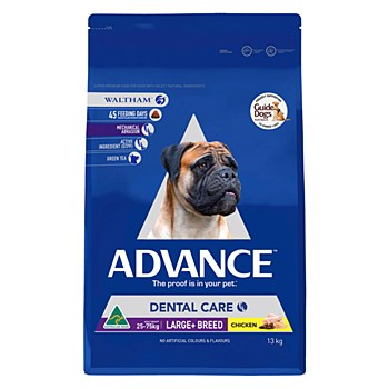 Advance Adult Large Breed Dental Care 13kg Dry Dog Food