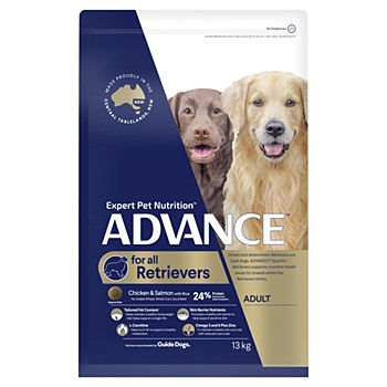 Advance Retrievers Large+ Breed Chicken & Salmon 13kg Dry Dog Food