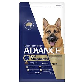 Advance Shepherds Large+ Breed Turkey 13kg Dry Dog Food