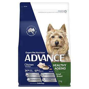 Advance Mature Toy Small Breed Chicken 3kg Dry Dog Food
