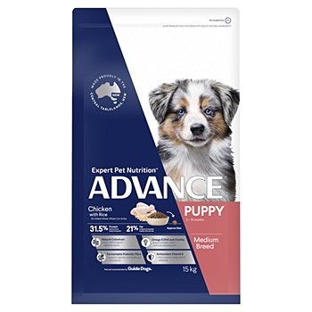 Advance Puppy All Breed Chicken 15kg Dry Dog Food