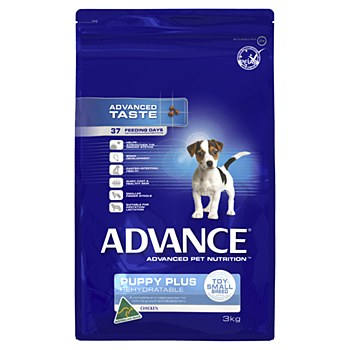 Advance Puppy Toy Small Breed Chicken 3kg Dry Dog Food