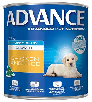 Advance Puppy Chicken and Rice 700g Wet Dog Food