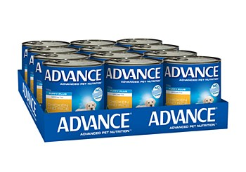 Advance Puppy Chicken and Rice 700g x 12 Wet Dog Food