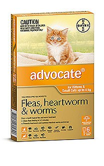 Advocate for Kittens and Small Cats up to 4kg (6 Pack)
