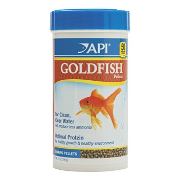 API Goldfish Sinking Pellets 198g