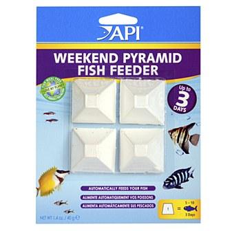API Weekend Pyramid Fish Feeder 4 x 3 Days