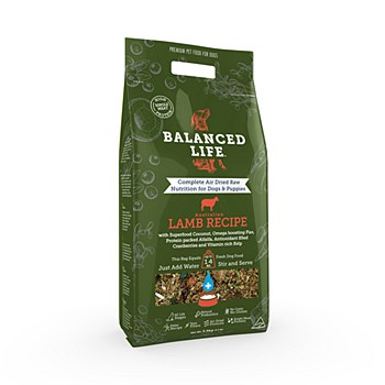 Balanced Life Rehydrate Lamb Recipe 3.5kg Dry Dog Food