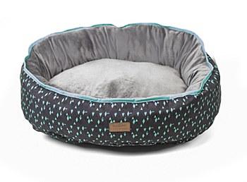 Kazoo Funky Teal Large Dog Bed