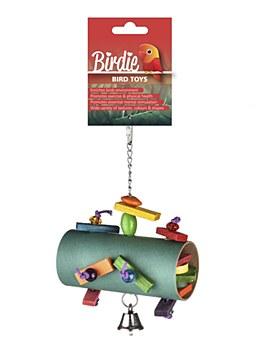 Birdie Forage Surprise Barrel Bird Toy