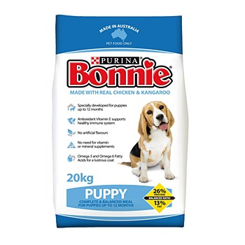 Bonnie Puppy with Real Chicken & Kangaroo 20kg Dry Dog Food