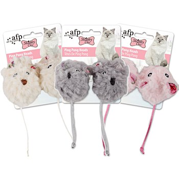 All For Pets Shabby Chic Ping Pong Cat Toy