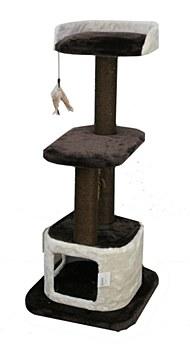 Montys 1 Hole 2 Platform 120cm Cat Scratch Post