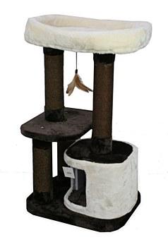 Montys 1 Hole 2 Platform 90cm Cat Scratch Post