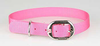 Petlife Dog Collar Nylon 67.5cm Pink