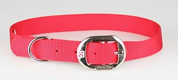 Petlife Dog Collar Nylon 67.5cm Red