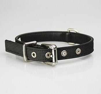 Petlife Dog Collar Small 37.5cm Action Black