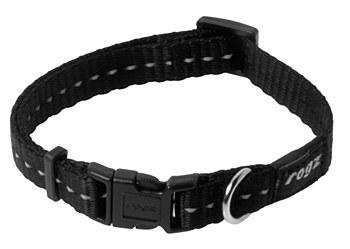 Rogz Dog Collar Classic Small Black