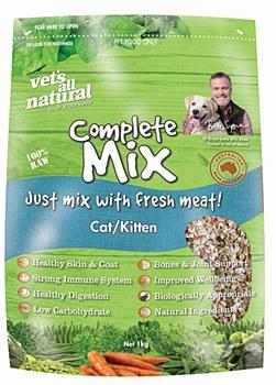Vet's All Natural Complete Mix Cat/Kitten 1kg