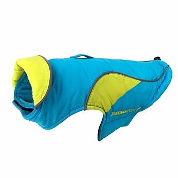 Huskimo Dog Coat Odour Free Sherpa Blue 40cm