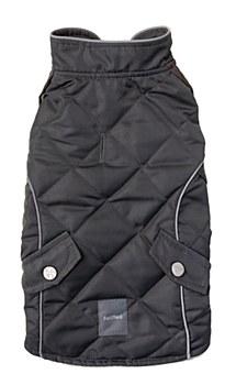 FuzzYard Dog Coat Adventurer Everest Grey 30 - 33cm