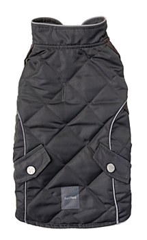 FuzzYard Dog Coat Adventurer Everest Grey 45 - 46.4cm