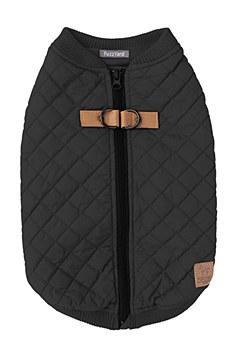 FuzzYard Dog Coat MacGyver Black Size 5