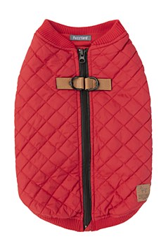 FuzzYard Dog Coat MacGyver Red Size 6