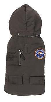 FuzzYard Dog Coat Nomad Jacket Charcoal Size 5