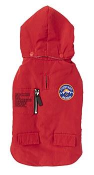 FuzzYard Dog Coat Nomad Jacket Red Size 5