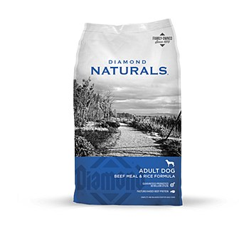 Diamond Naturals Adult Dog Beef Meal & Rice 18kg Dry Dog Food