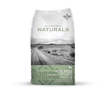 Diamond Naturals Adult Dog Large Breed Lamb Meal & Rice 18kg Dry Dog Food