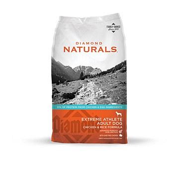 Diamond Naturals Adult Dog Extreme Athlete Chicken & Rice 18kg Dry Dog Food