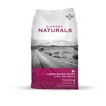 Diamond Naturals Puppy Large Breed Lamb & Rice 18kg Dry Dog Food