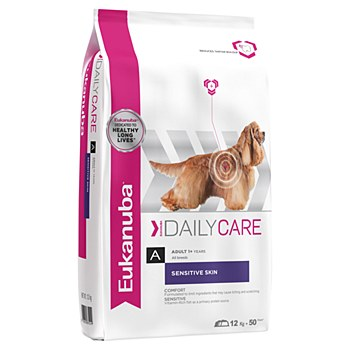 Eukanuba Adult Sensitive Skin 12kg Dry Dog Food