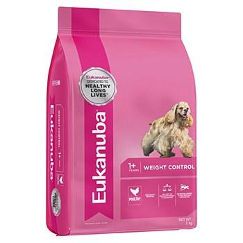 Eukanuba Adult Medium Breed Weight Control 3kg Dry Dog Food
