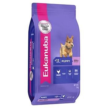 Eukanuba Puppy Small Breed 3kg Dry Dog Food
