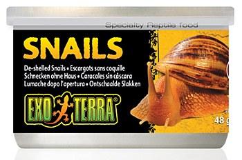 Exo Terra Snails De-shelled Can 48g Reptile Food