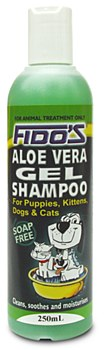 Fido's Shampoo For Dogs and Cats Aloe Vera Gel 250ml