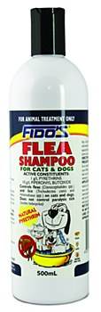 Fido's Flea Shampoo For Cats and Dogs 500ml