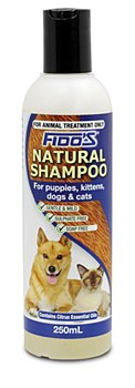 Fido's Shampoo For Dogs and Cats Natural 250ml
