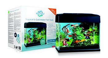 Blue Planet Tropical & Cold Water Classic 20 Litre Fish Tank