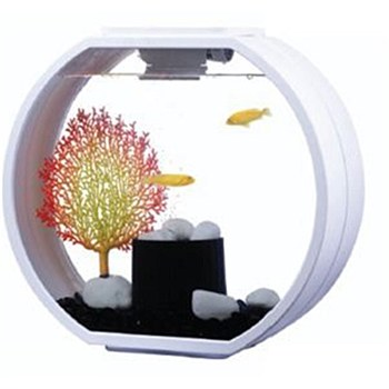 Blue Planet Deco O White 20 Litre Fish Tank