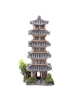 Kazoo Fish Tank Ornament Chinese Temple Medium