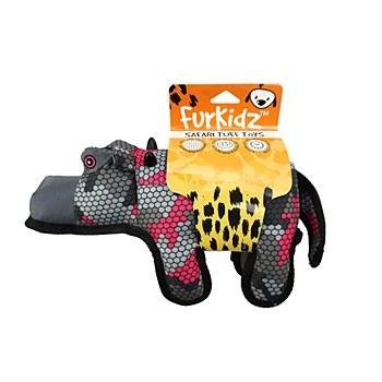 Furkidz African Hippo 35cm Dog Toy