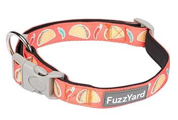FuzzYard Dog Collar Hey Esse Large