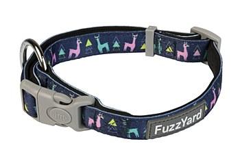 FuzzYard Dog Collar No Probllama Large