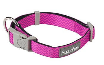 FuzzYard Dog Collar Pokey Large