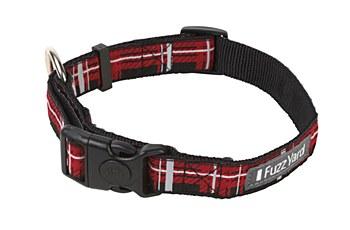 FuzzYard Dog Collar Fling Red Large